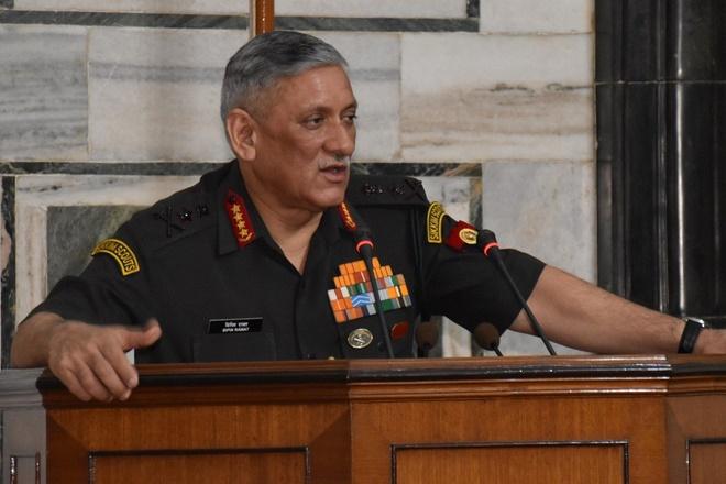 General Bipin Rawat- File pic