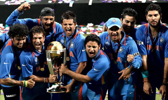 India Tv - India defeated Sri Lanka at Wankhede to liftICC World Cup 2011.
