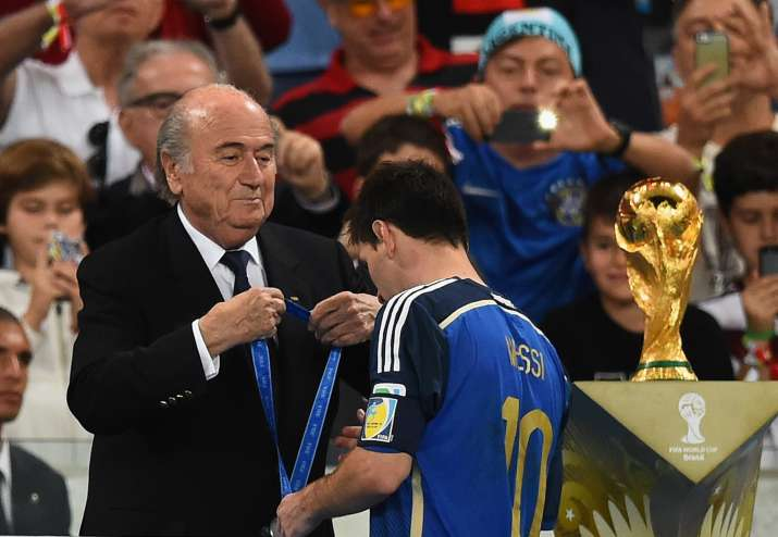India Tv - Messi led Argentina to the 2014 World Cup finals