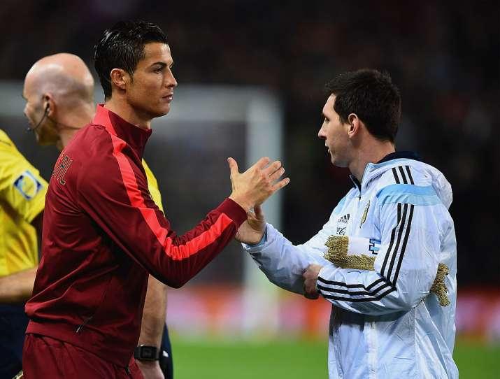 India Tv - Messi and Ronaldo have five Ballon d'Or awards each
