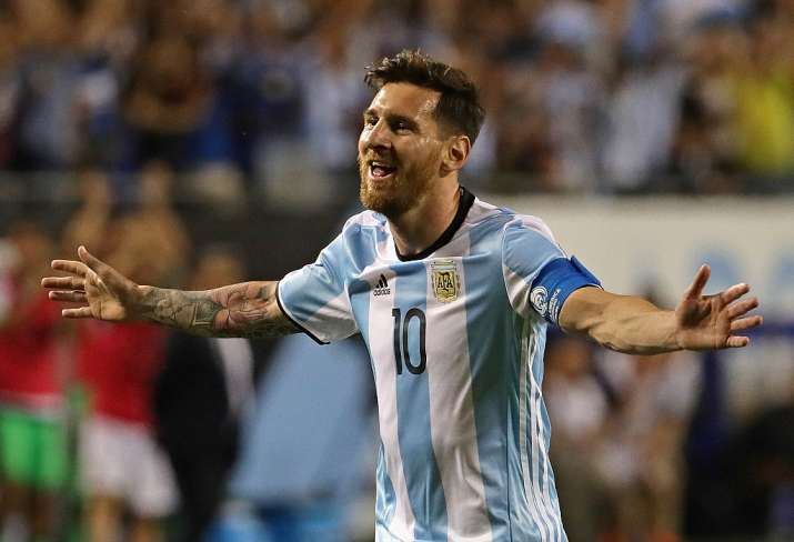India Tv - Messi is Argentina's all-time top scorer.
