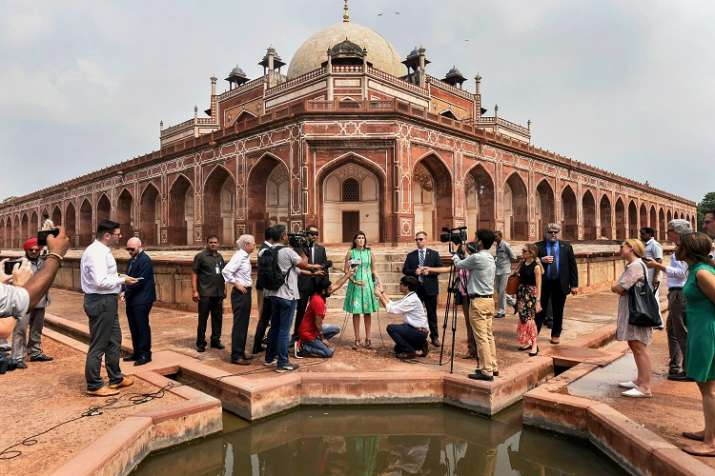 US envoy to United Nations Nikki Haley visits delhi.