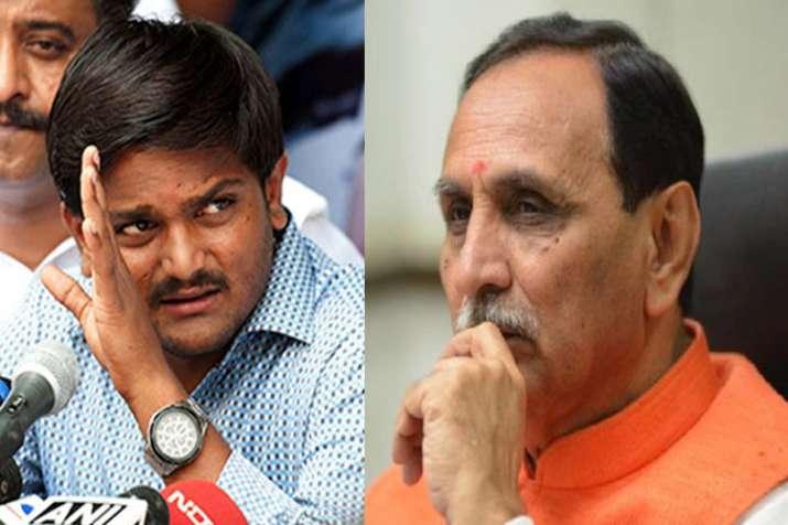 Hardik Patel claims Gujarat CM Vijay Rupani has resigned.