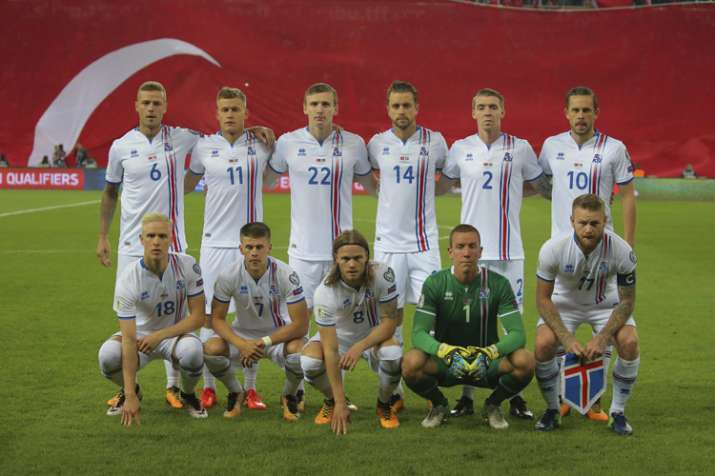 8dbb89597ea FIFA World Cup 2018  Tiny Iceland continues to live the dream ...