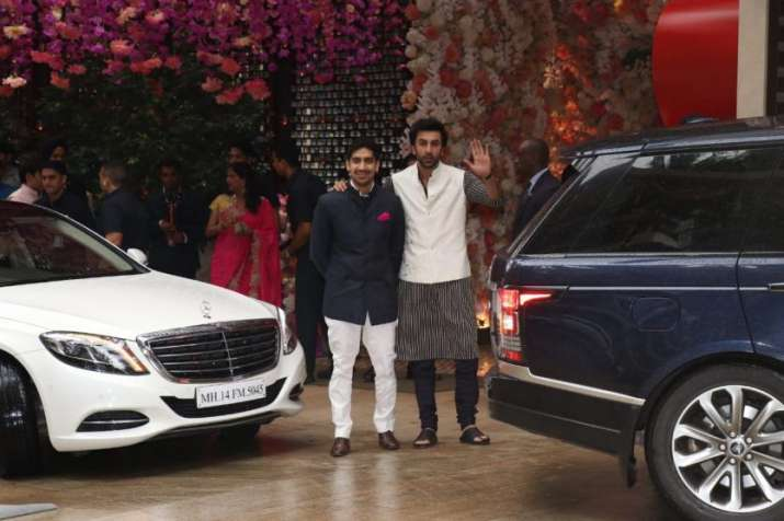 India Tv - Akash Ambani-Shloka Mehta's engagement bash