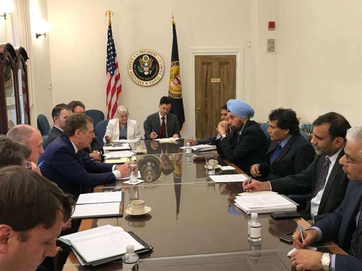 The plans for India US Trade Talks were finalised during a