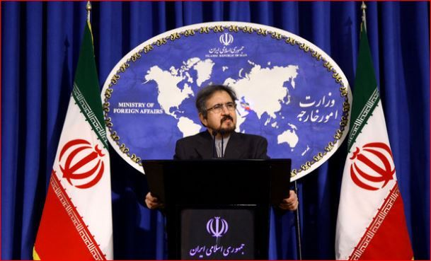 Iran Foreign Ministry spokesman Bahram Qasemi