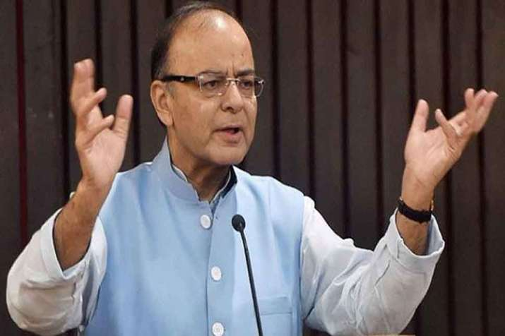 Jaitley's series of posts, spread over three days