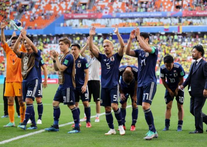 Japan, 2018 FIFA World Cup