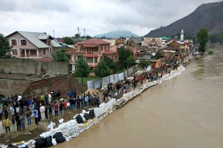 Kashmir Valley experienced rainfall over the past three