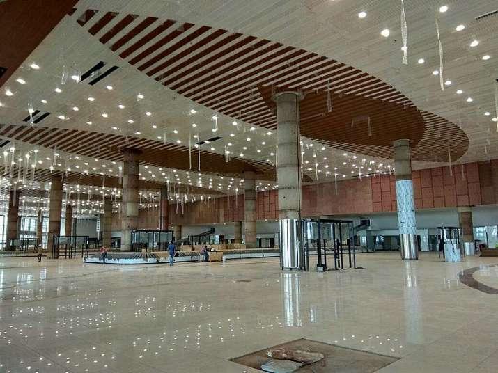 Interior of the Kannur International Airport