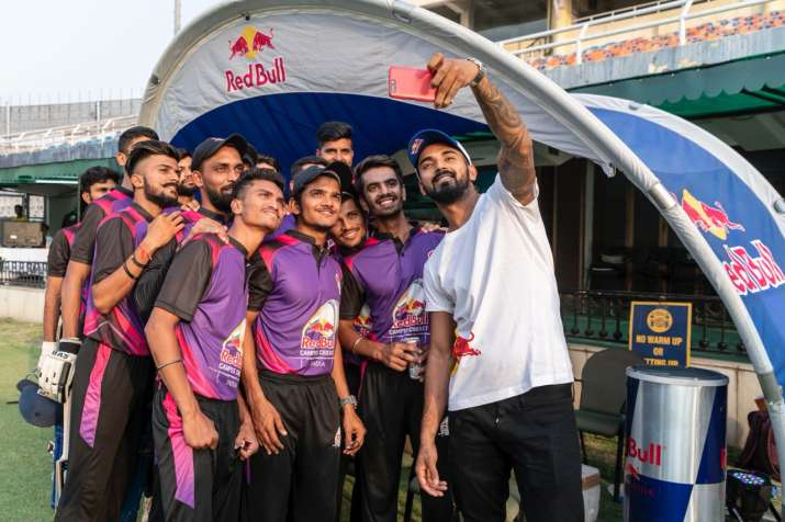 India Tv - KL Rahul during the event