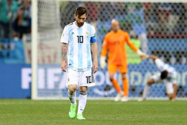 India Tv - Messi does not have a goal this World Cup yet.