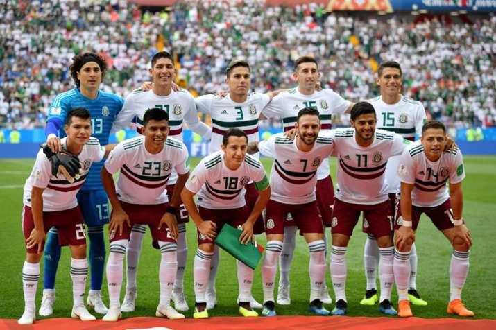 Mexico football team.