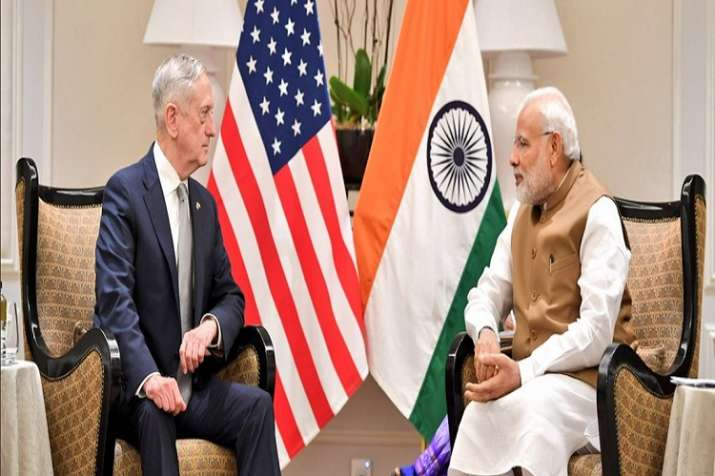 Narendra Modi meets James Mattis for US-India strategic