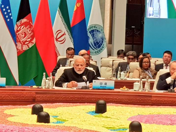 India Tv - PM Modi at SCO Summit