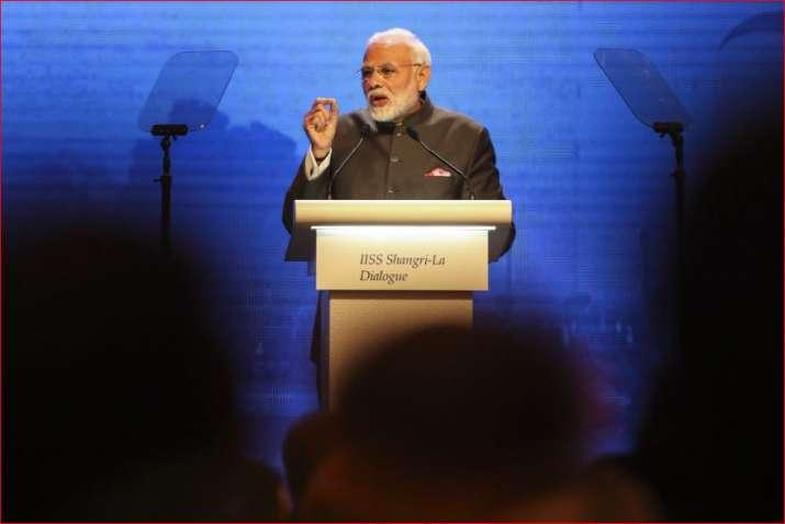 PM Modi at Shangri-La Dialogue