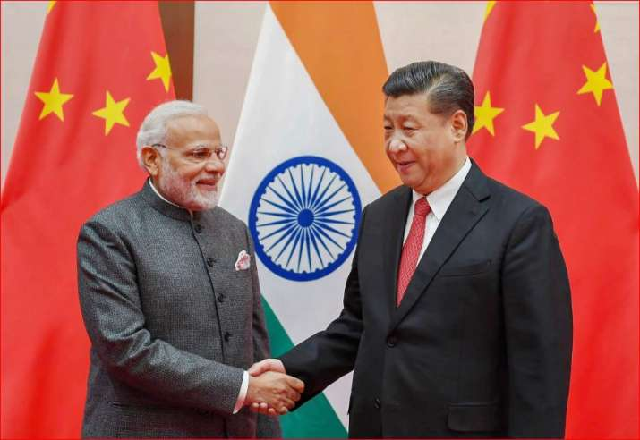 PM Modi with President Xi Jinping