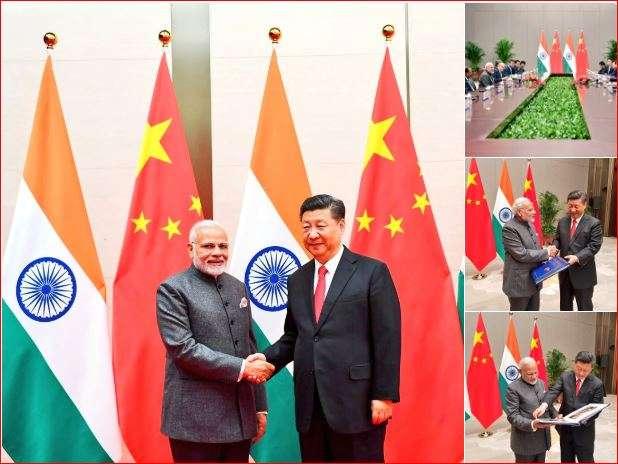 PM Modi with President Xi Jinping
