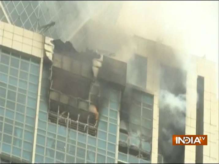 Mumbai: Fire breaks out in BeauMonde tower in Worli, more ...