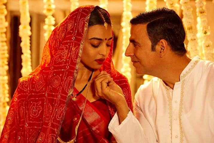 India Tv - Radhika Apte and Akshay Kumar