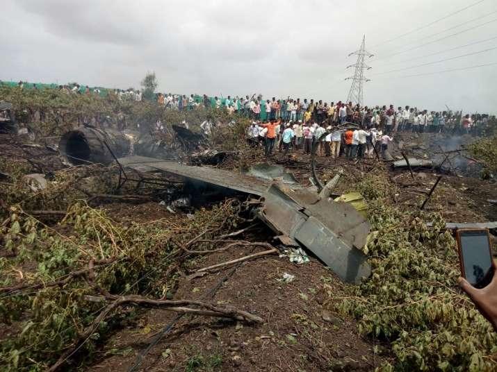 Indian Air Force's Sukhoi jet crashes in Maharashtra's