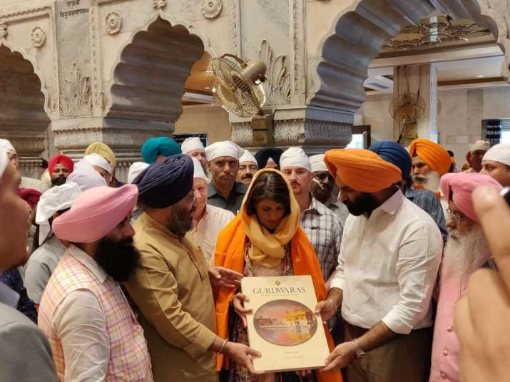Nikki Haley is the daughter of Sikh immigrants from Punjab.