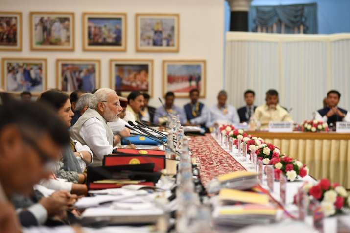 PM Modi during NITI Aayog Meet