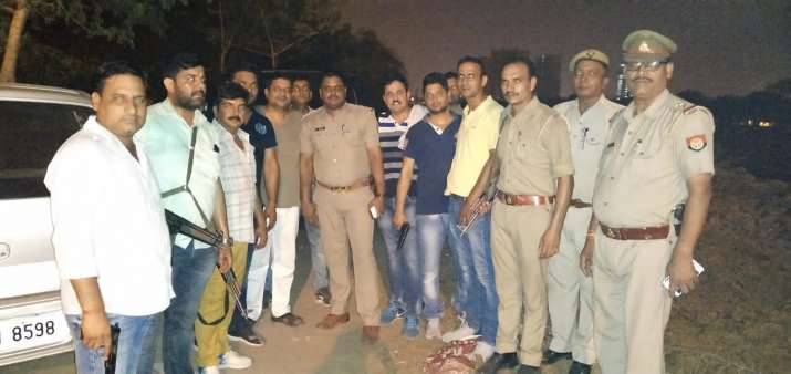Noida Police nab 3 criminals after high-speed chase and