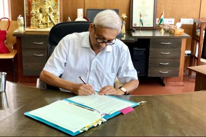Goa Chief Minister Manohar Parrikar on Friday resumed
