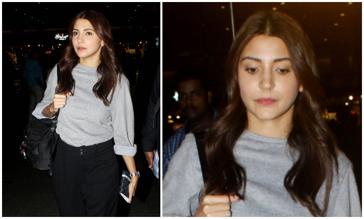 Anushka Sharma returns to Mumbai after wrapping US schedule