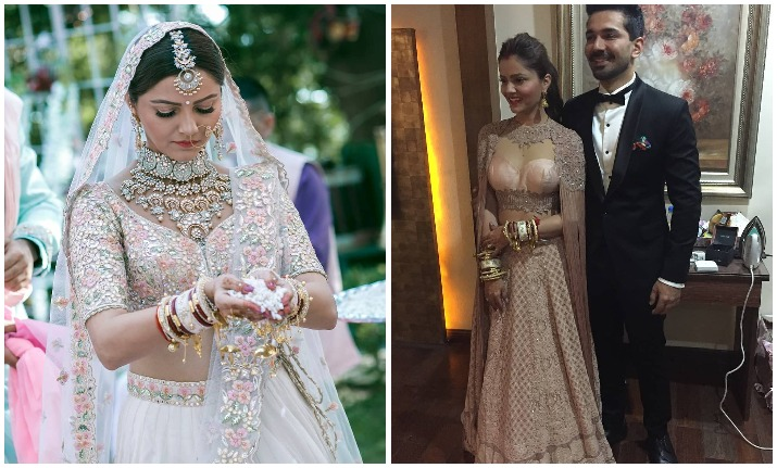 Here's everything about the fairytale wedding of Rubina