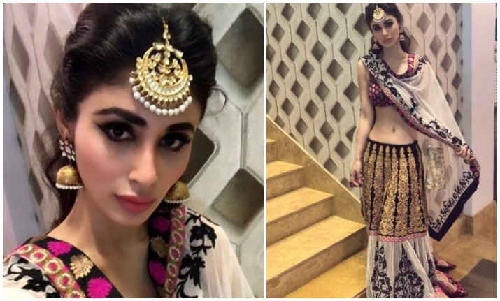 Mouni Roy shares picture in lehenga, fans express concern