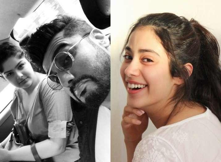 Janhvi Kapoors Funny Comment On Arjun Anshulas Selfie Will Make