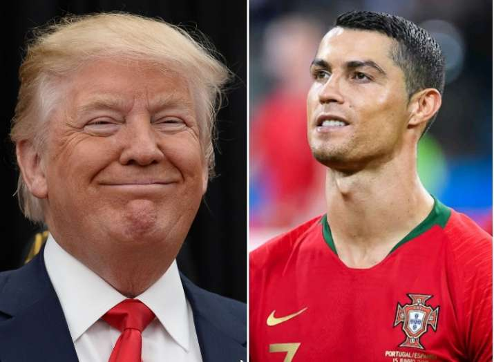 Donald Trump cracked a joke about Portuguese soccer star Cristiano Ronaldo