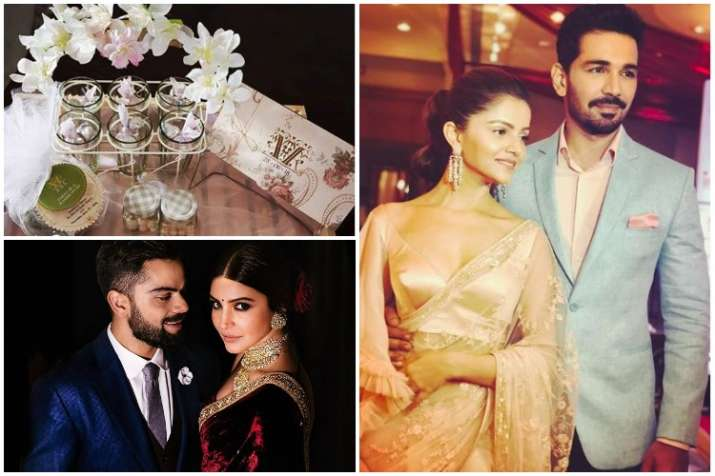Rubina dilaik and abhinav shuklas eco friendly wedding cards look rubina dilaik and abhinav shukla stopboris Gallery