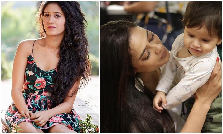TV actress Shivangi Joshi had a cute moment with Shweta
