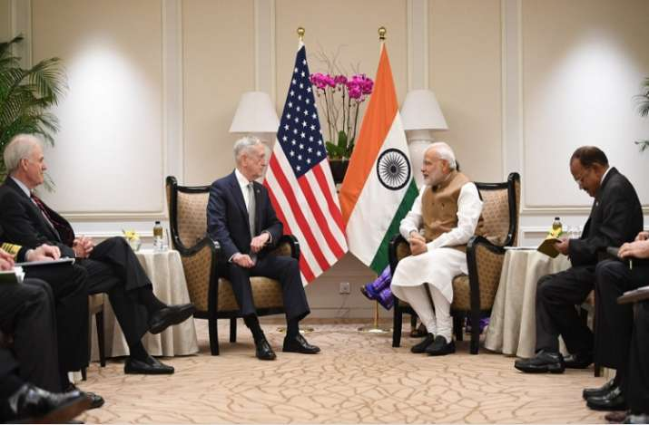 PM Modi held a closed-door meeting with Mattis during