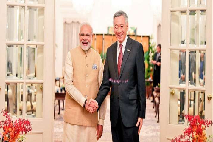 Hailing Singapore as a valuable partner in India's Act-East