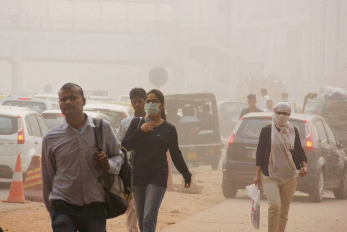 Delhi's air quality improves to 'moderate' level