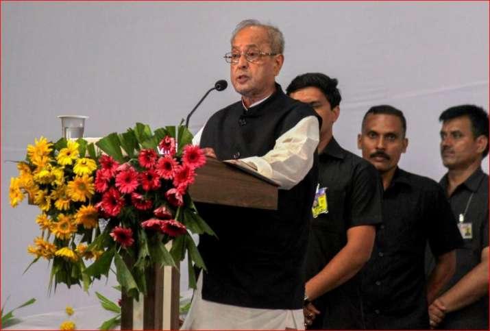 Pranab Mukherjee gave a nobel speech at hindutva