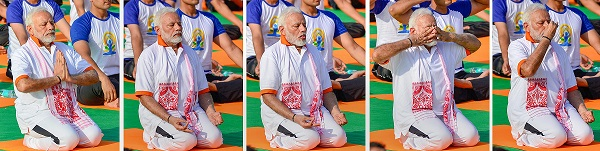 India Tv - PM Modi performing Yoga