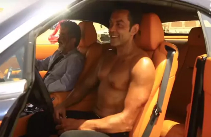 India Tv - Bobby Deol on the sets of Race 3