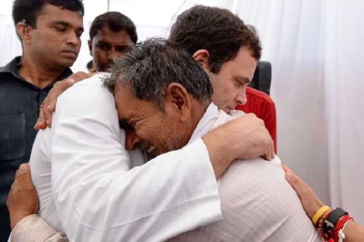 rahul gandhi in mandsaur forget rs 15 lakh pm modi has not given