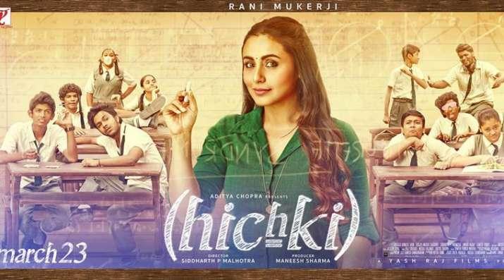 India Tv - Hichki Poster