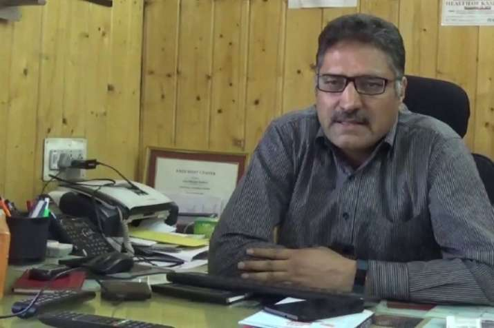 Veteran journalist and editor of 'Rising Kashmir' newspaper