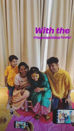 India Tv - Shweta Tripathi's haldi pics