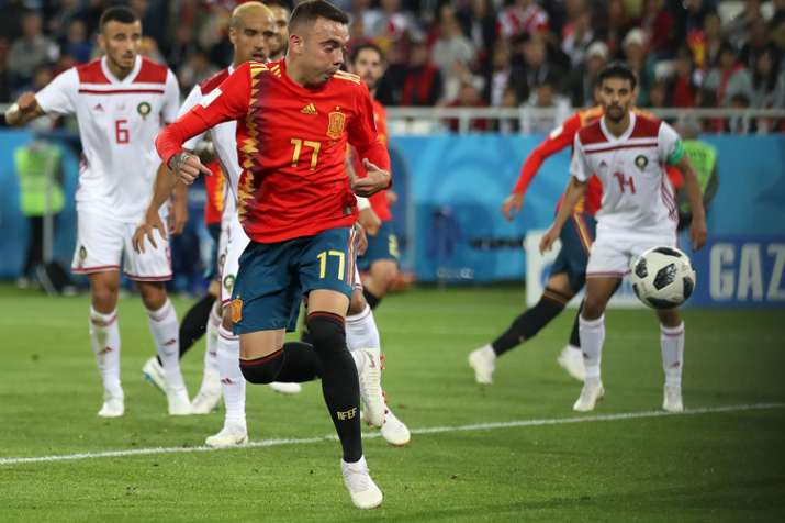 Spain 2-2 Morocco FIFA World Cup 2018