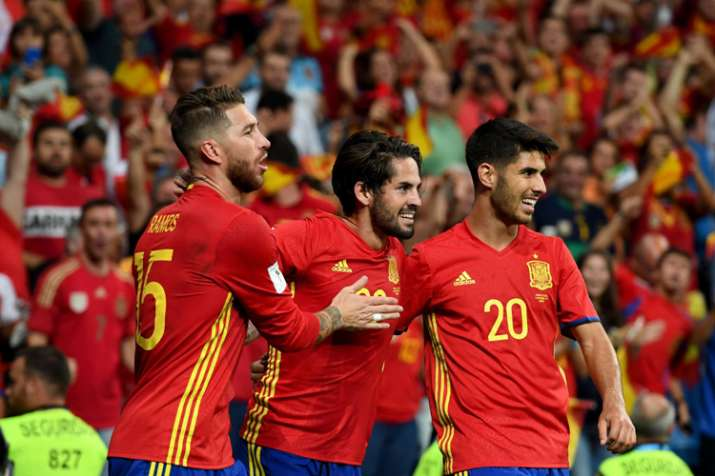 51e2089a1 Spain in chaos two days before FIFA World Cup 2018 after coach fired ...