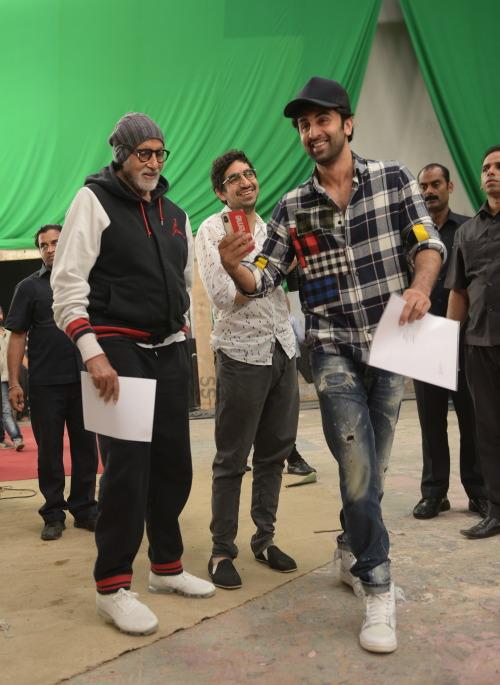 India Tv - Ranbir Kapoor and Amitabh Bachchan prepping up for Brahmastra.